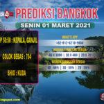 PREDIKSI BANGKOK SENIN 01 MARET 2021