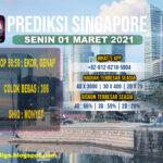 PREDIKSI SINGAPORE SENIN 01 MARET 2021