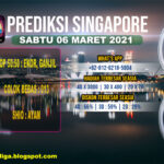 PREDIKSI SINGAPORE SABTU 06 MARET 2021