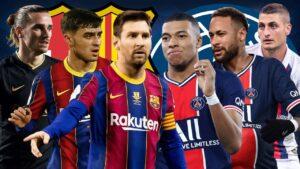 Prediksi Liga Champions PSG vs Barcelona 11 Maret 2021