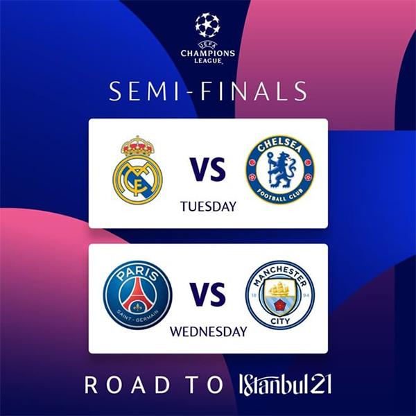 Semifinal UEFA Champions League 2020/21