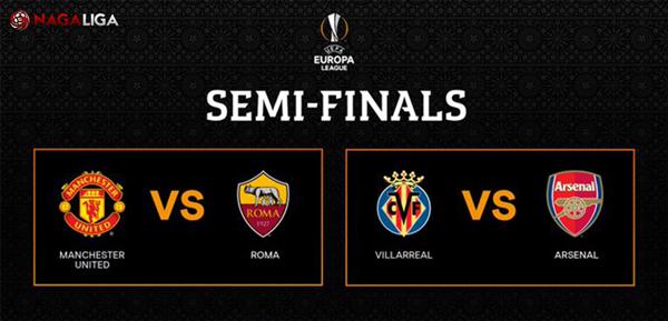 Semifinal UEFA Europa League 2021/21 antara AS Roma vs Manchester United