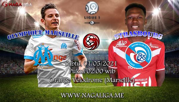 Prediksi Bola Olympique Marseille vs RC Strasbourg 01 Mei 2021, antara Olympique Marseille vs RC Strasbourgyang akan berlangsung diOrange Vélodrome (Marseille).