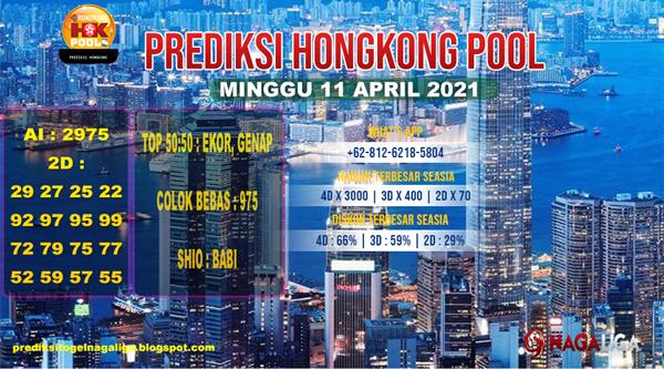 PREDIKSI HONGKONG MINGGU 11 APRIL 2021