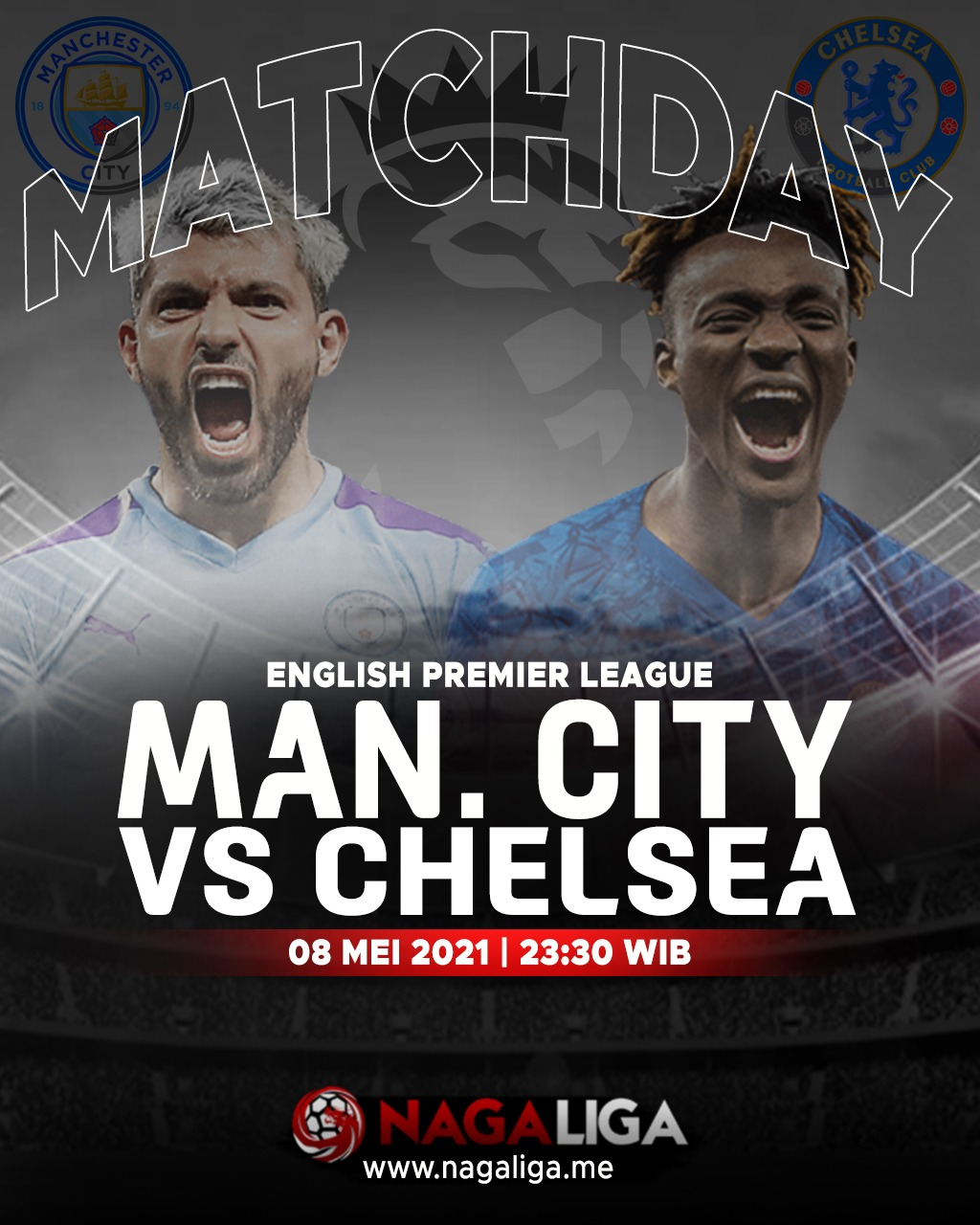 Jadwal dan Live Streaming Manchester City vs Chelsea